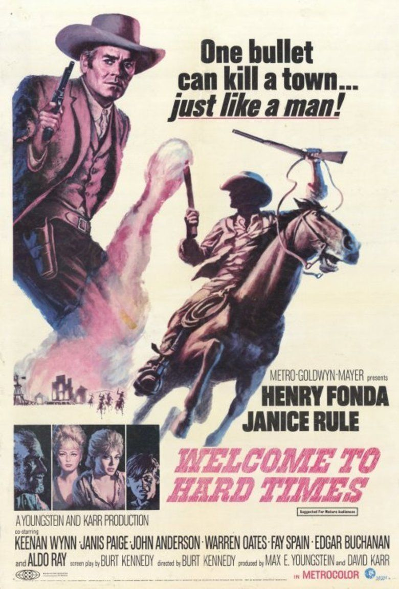 Welcome to Hard Times (film) movie poster