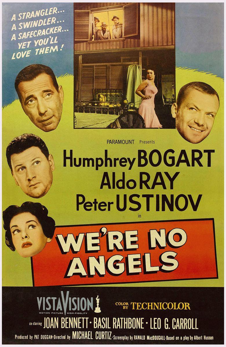Were No Angels (1955 film) movie poster