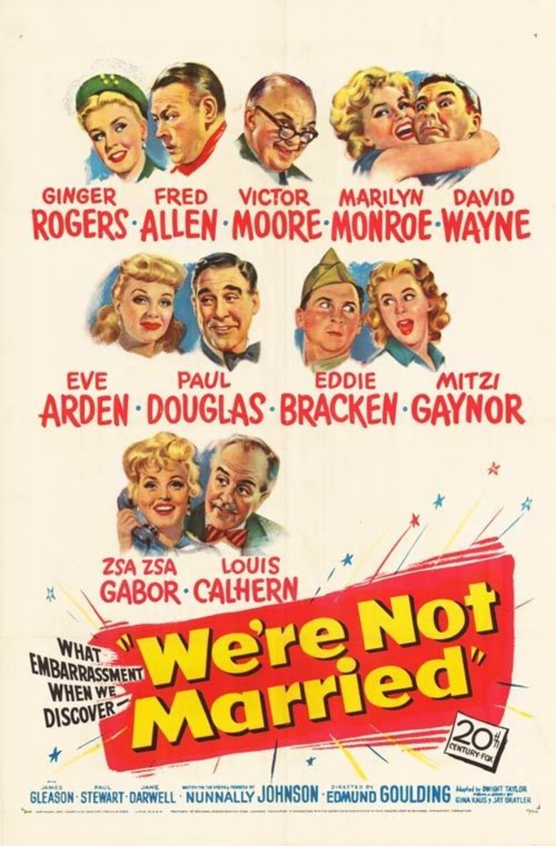 Were Not Married! movie poster