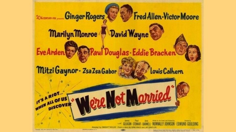 Were Not Married! movie scenes