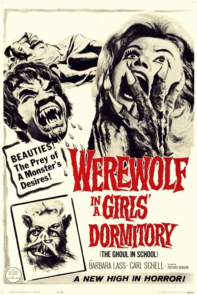 Werewolf in a Girls Dormitory movie poster