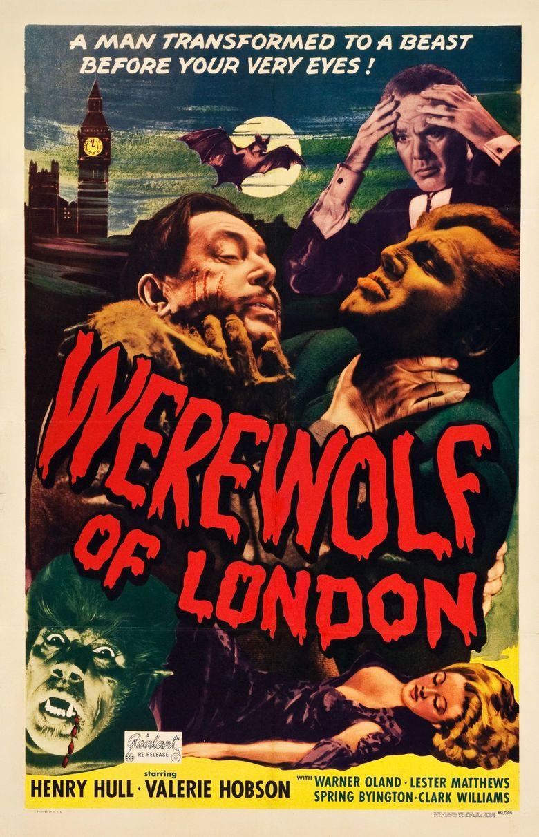 Werewolf of London movie poster