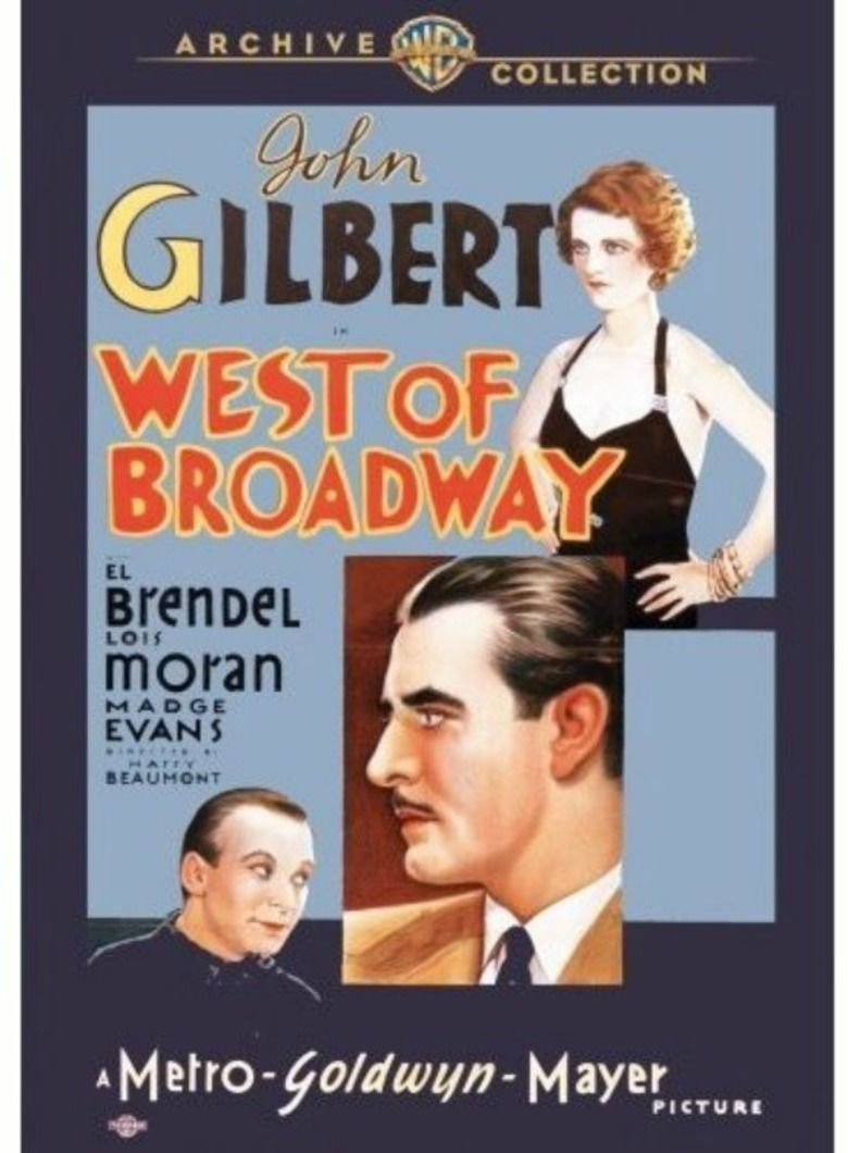 West of Broadway (1931 film) movie poster