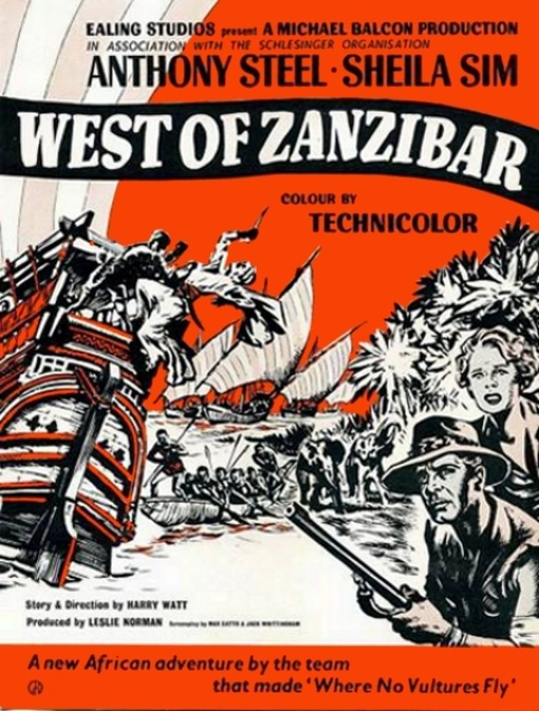 West of Zanzibar (1954 film) movie poster