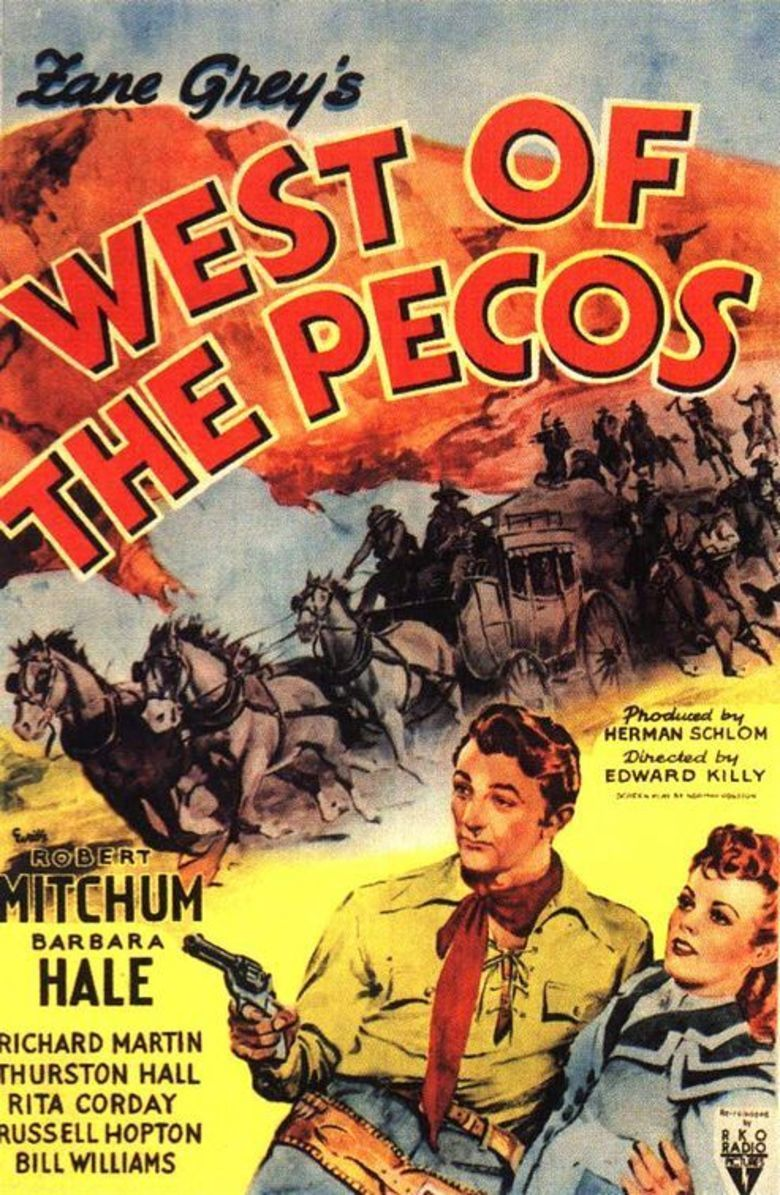West of the Pecos (1945 film) movie poster