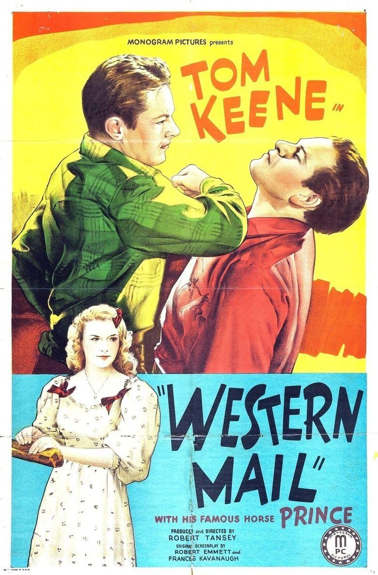 Western Mail (film) movie poster