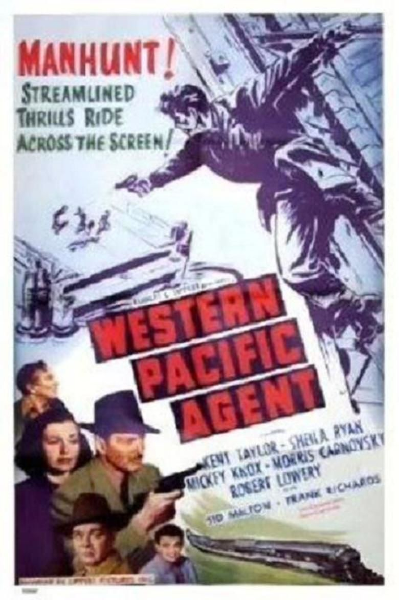 Western Pacific Agent movie poster