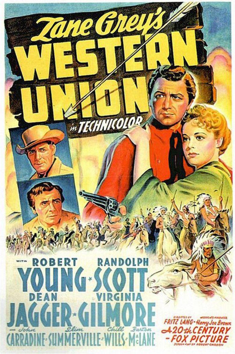 Western Union (film) movie poster