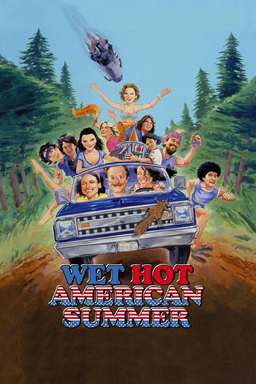 Wet Hot American Summer movie poster