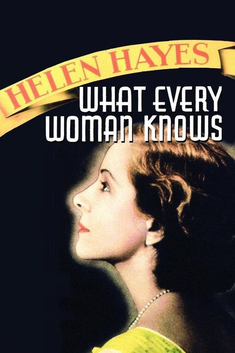 What Every Woman Knows (1934 film) movie poster
