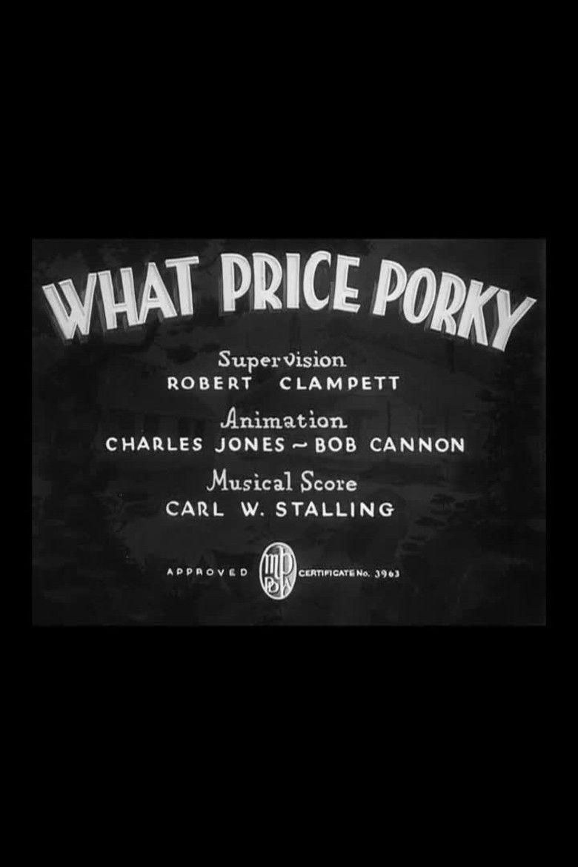 What Price Porky movie poster