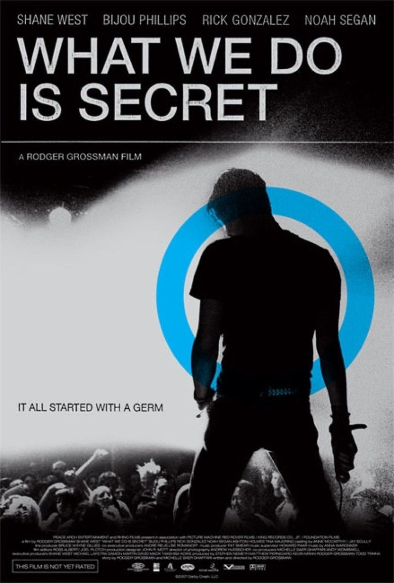 What We Do Is Secret (film) movie poster