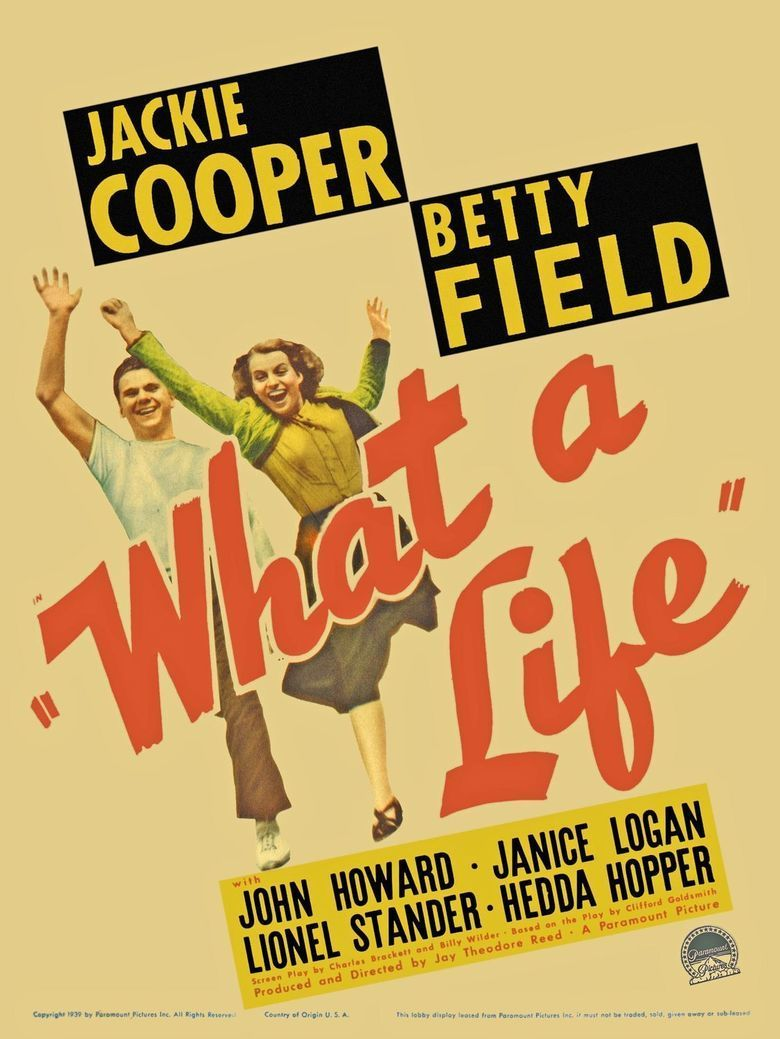 What a Life (film) movie poster
