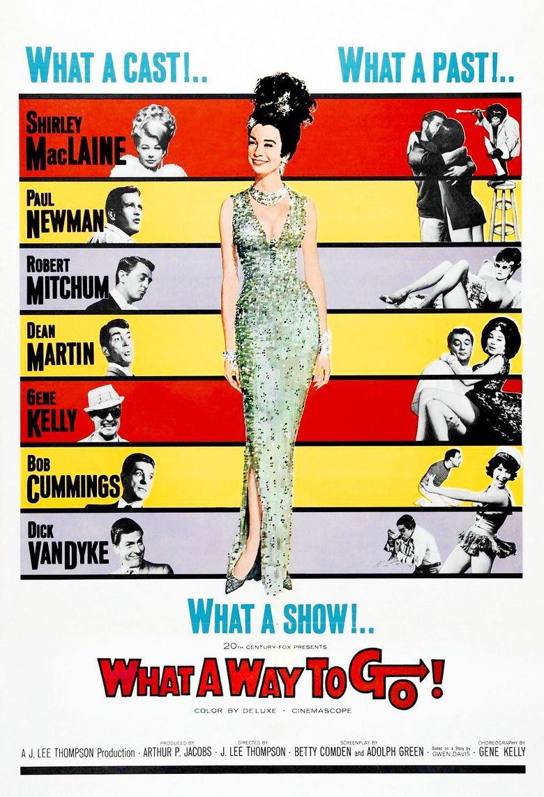 What a Way to Go! movie poster