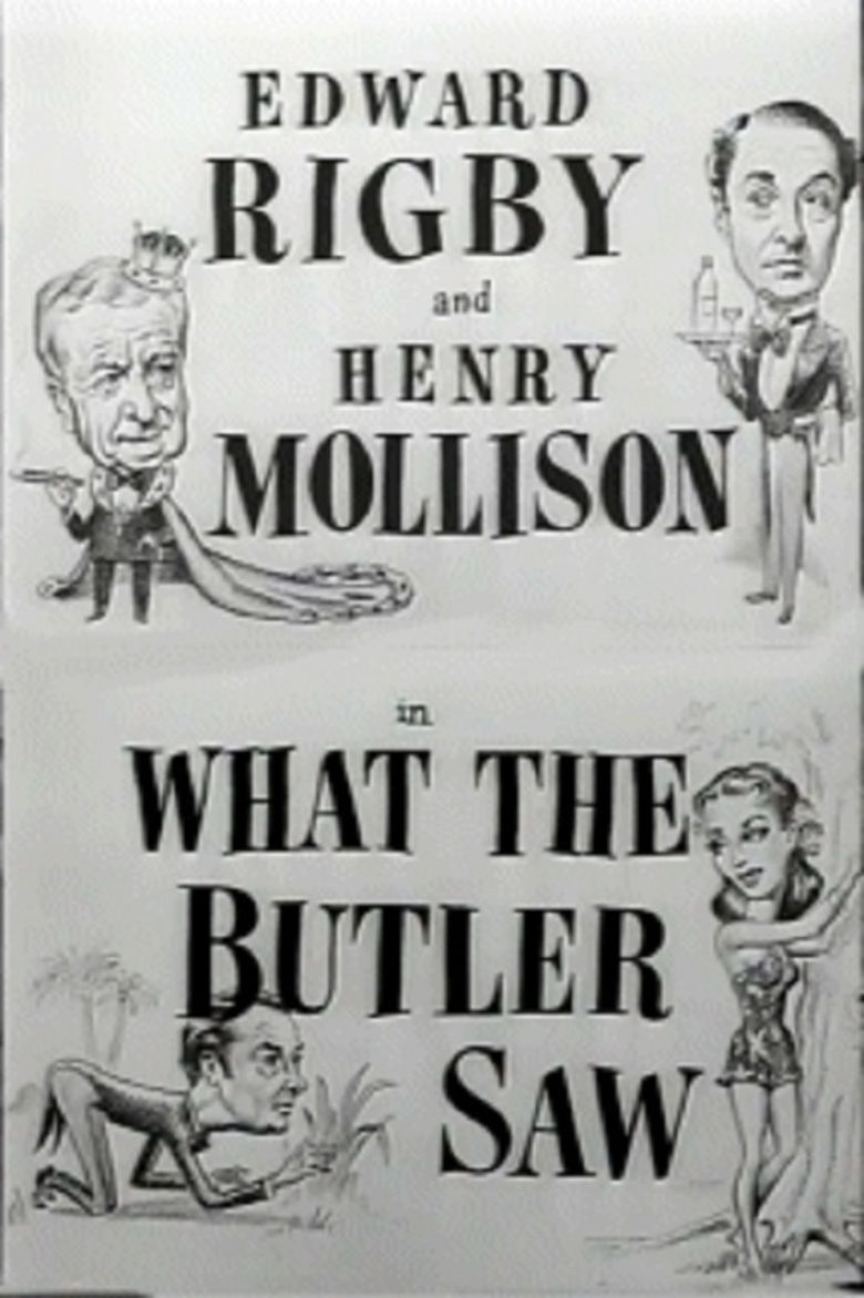 What the Butler Saw (1950 film) movie poster