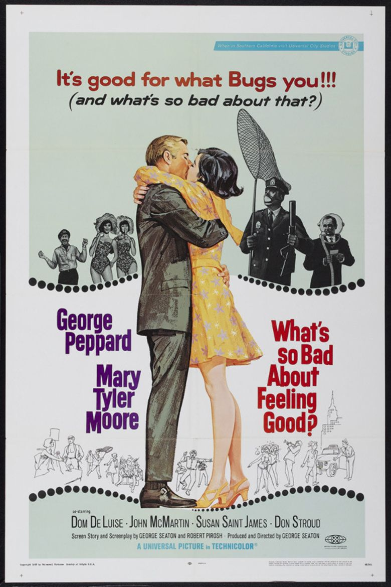 Whats So Bad About Feeling Good movie poster