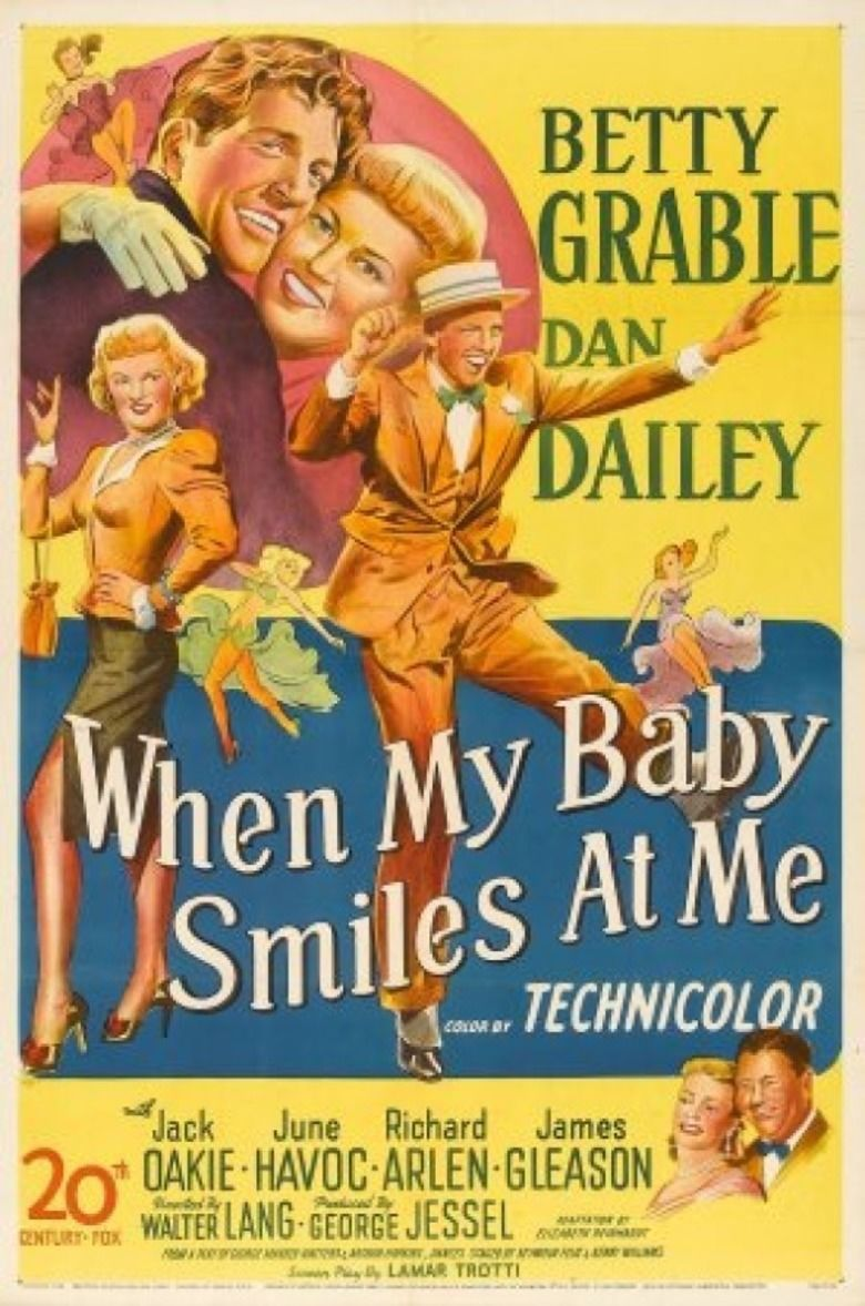 When My Baby Smiles at Me (film) movie poster
