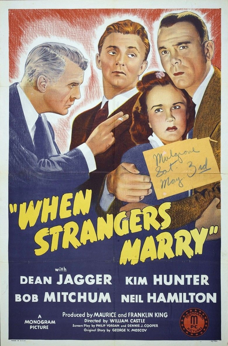 When Strangers Marry movie poster