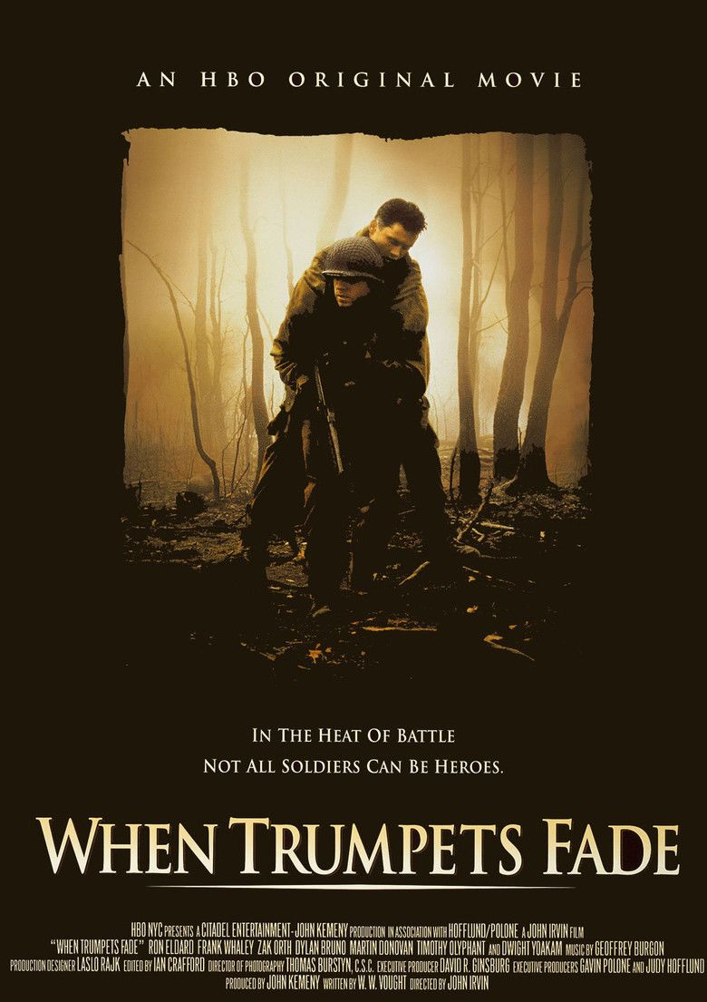 When Trumpets Fade movie poster