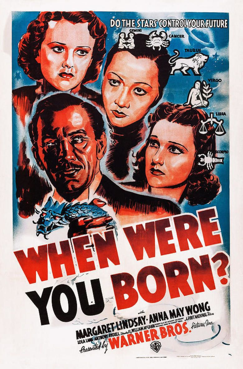 When Were You Born movie poster