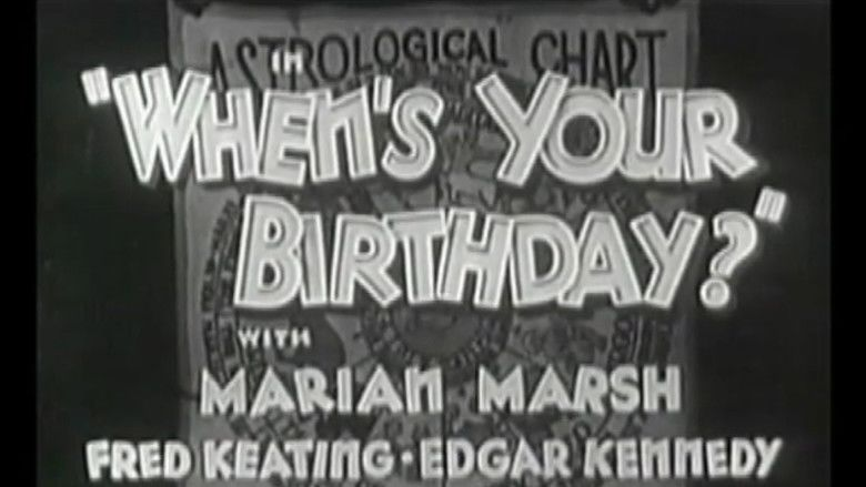 Whens Your Birthday movie scenes