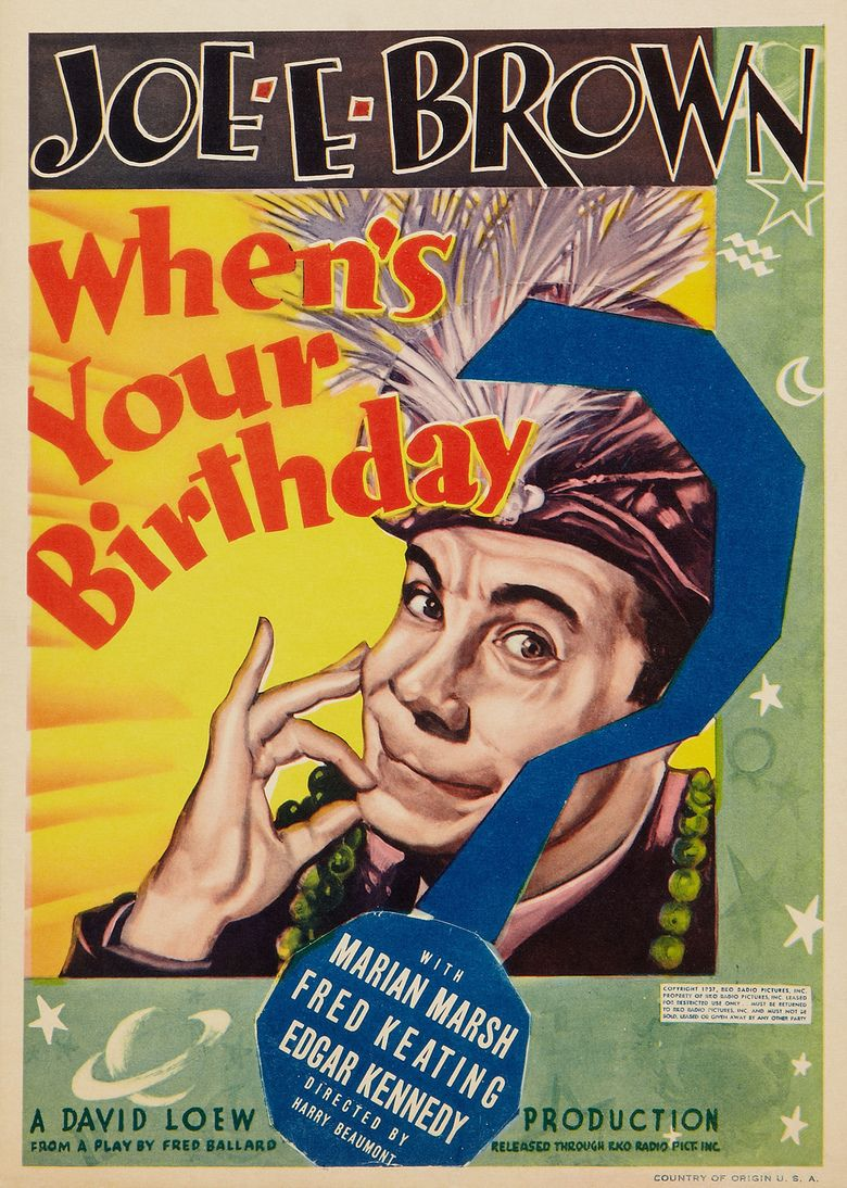 Whens Your Birthday movie poster