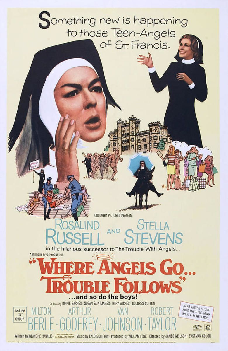 Where Angels Go, Trouble Follows movie poster