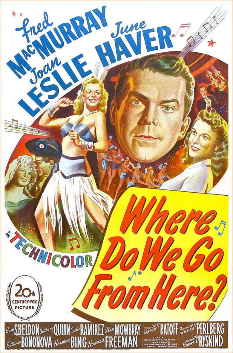 Where Do We Go from Here (film) movie poster