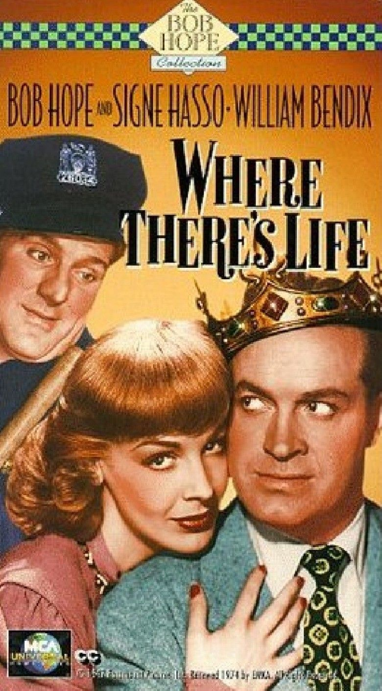 Where Theres Life movie poster