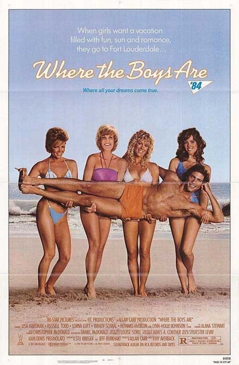 Where the Boys Are 84 movie poster