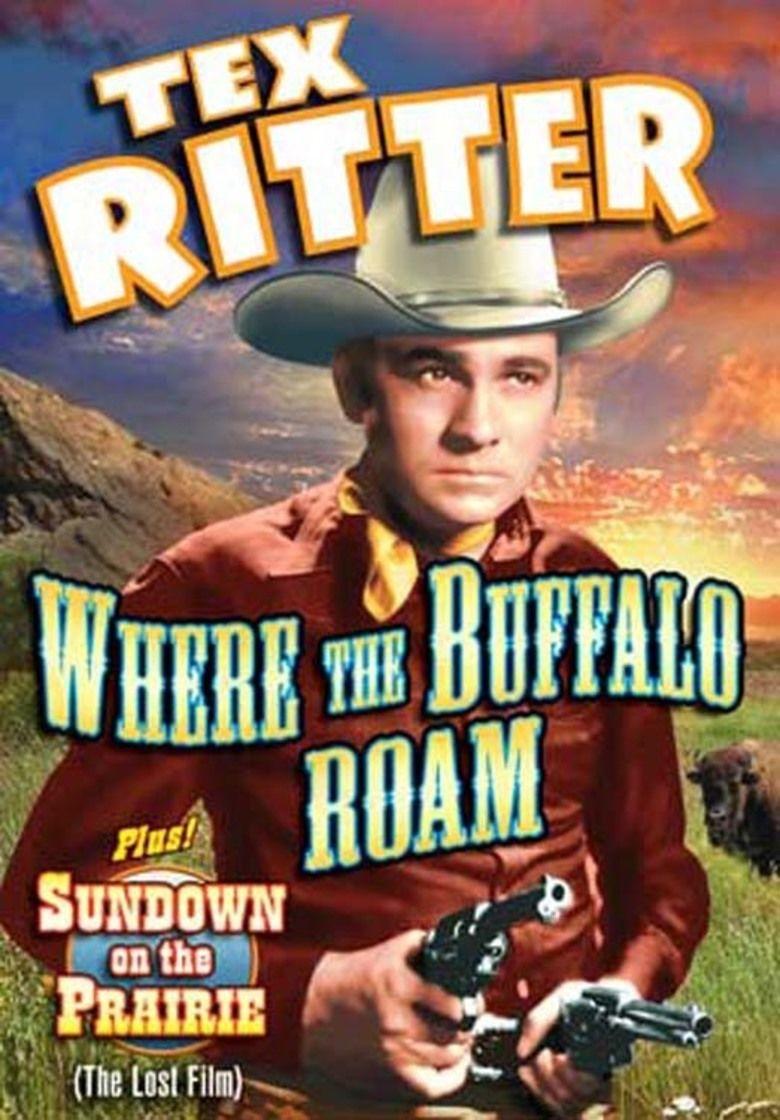 Where the Buffalo Roam (1938 film) movie poster
