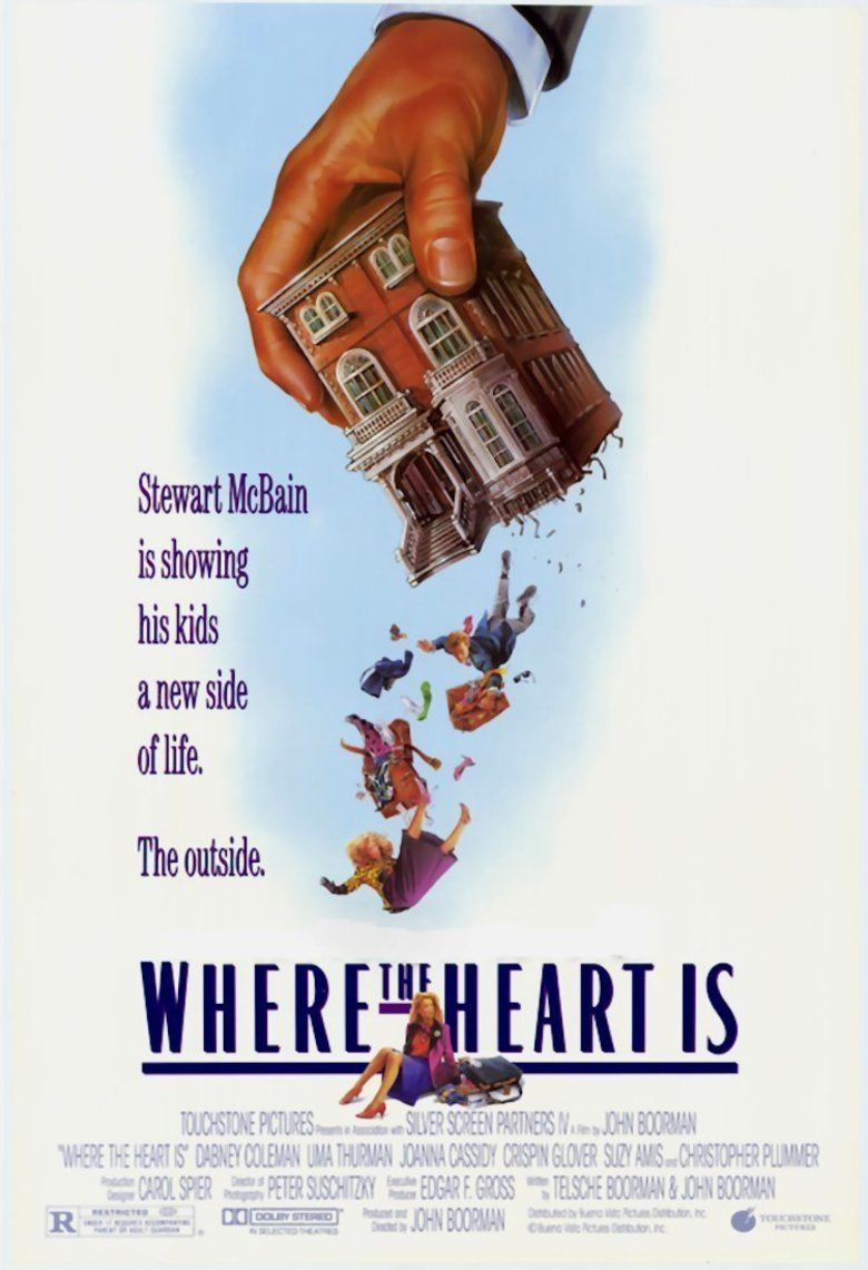 Where the Heart Is (1990 film) movie poster