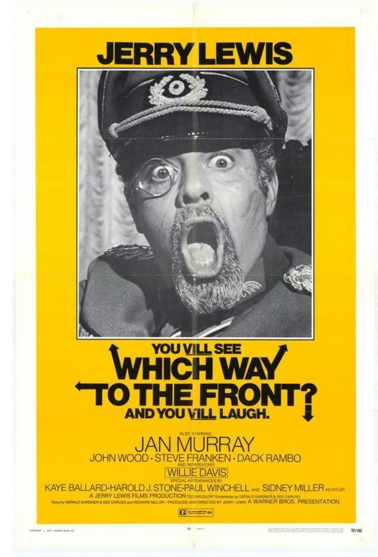Which Way to the Front movie poster
