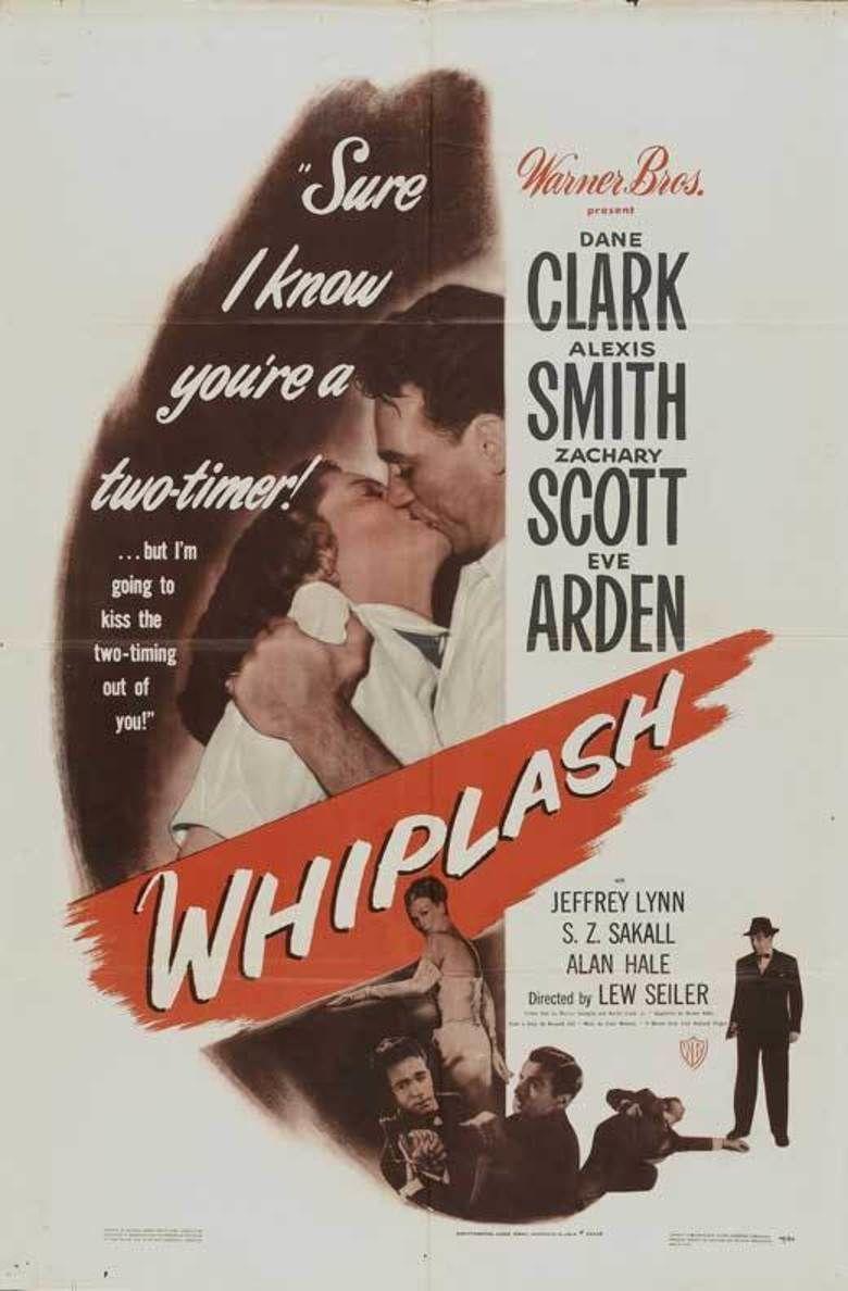 Whiplash (1948 film) movie poster