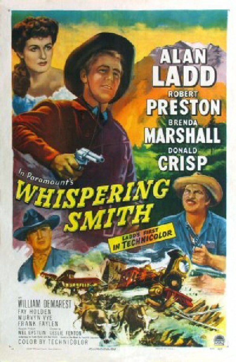 Whispering Smith movie poster