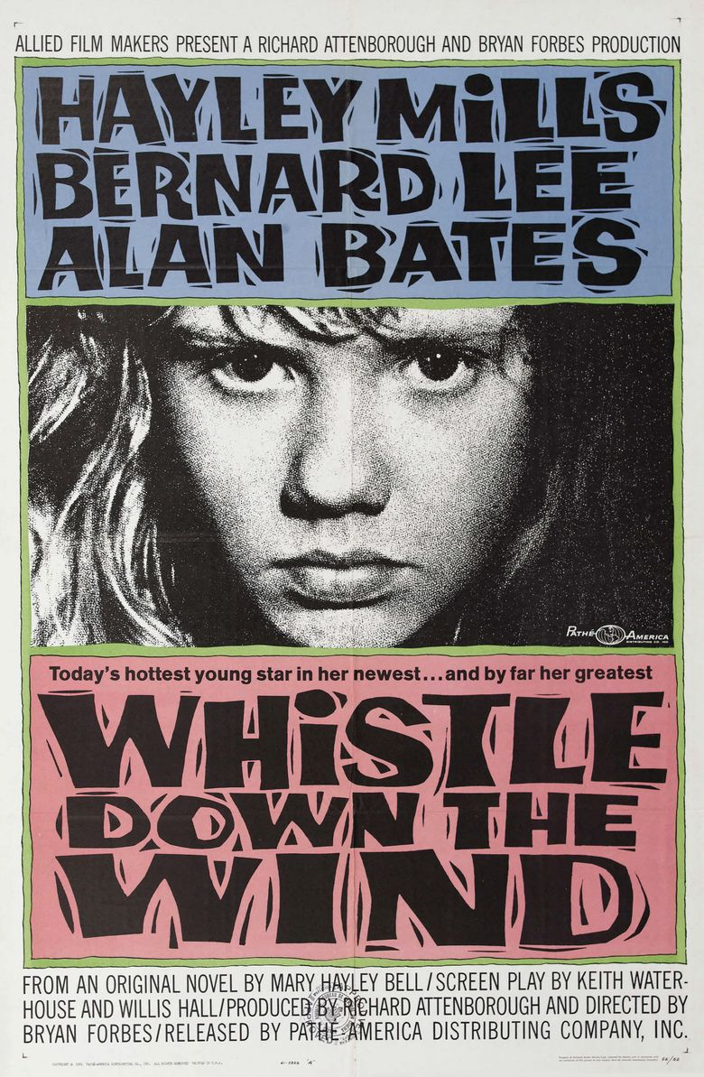 Whistle Down the Wind (film) movie poster