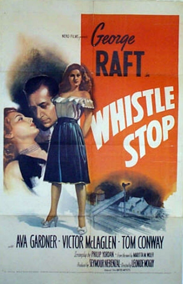 Whistle Stop (film) movie poster