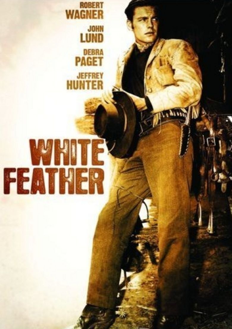 White Feather (film) movie poster