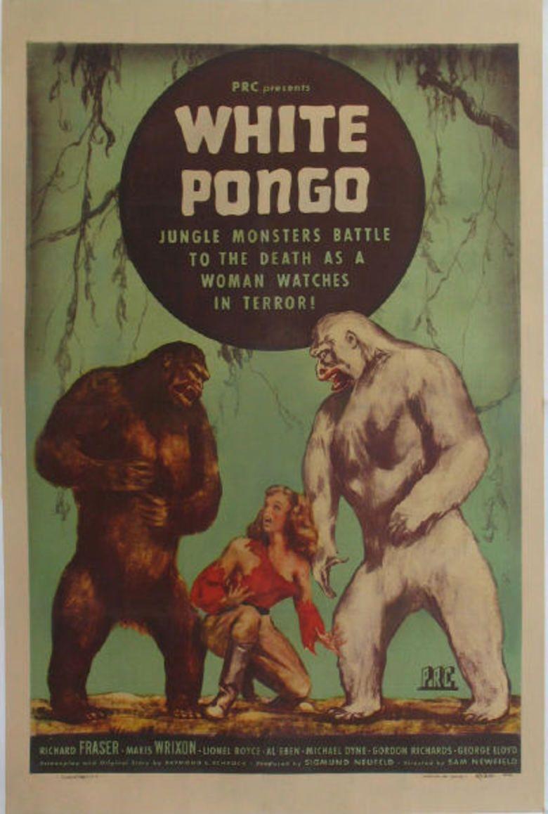 White Pongo movie poster