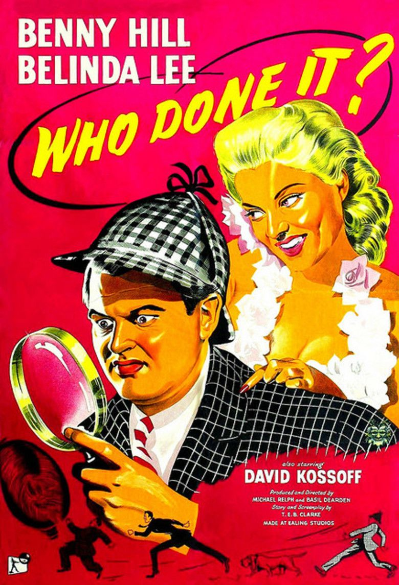 Who Done It (1956 film) movie poster