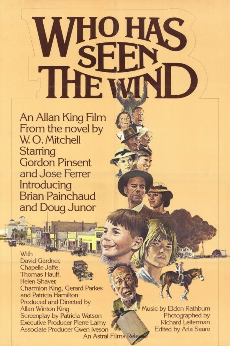 Who Has Seen the Wind (1977 film) movie poster