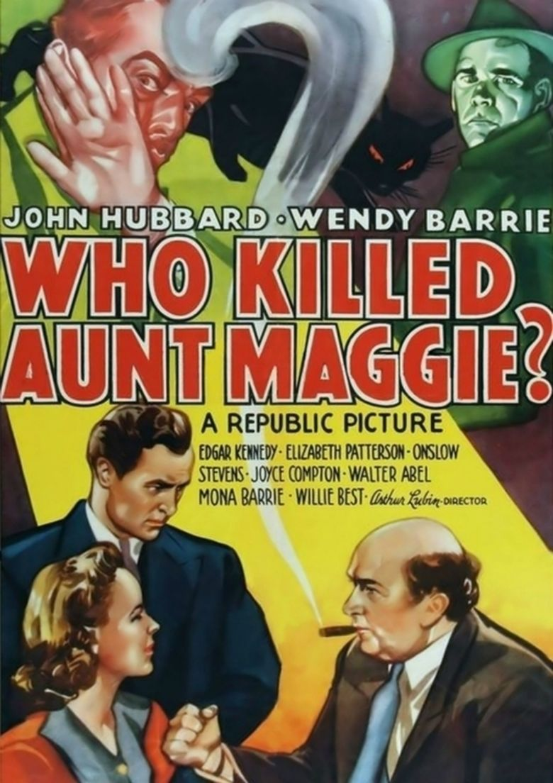 Who Killed Aunt Maggie movie poster