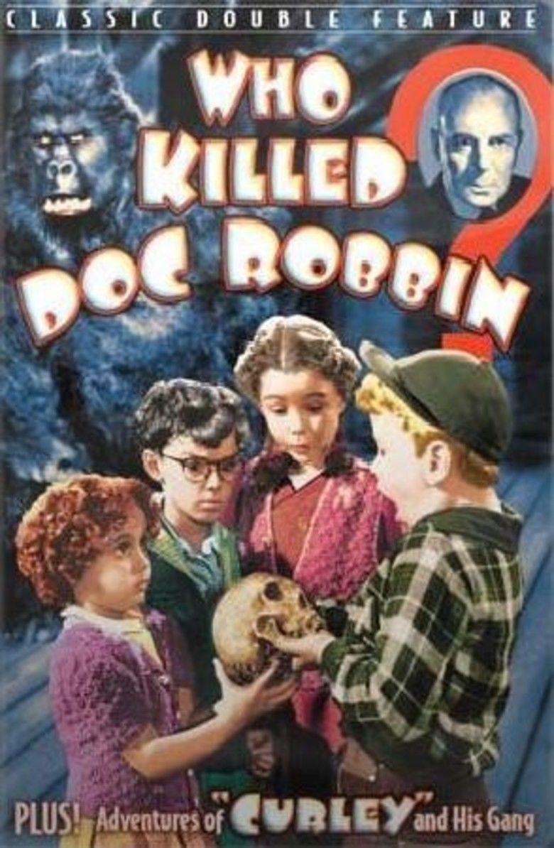 Who Killed Doc Robbin movie poster
