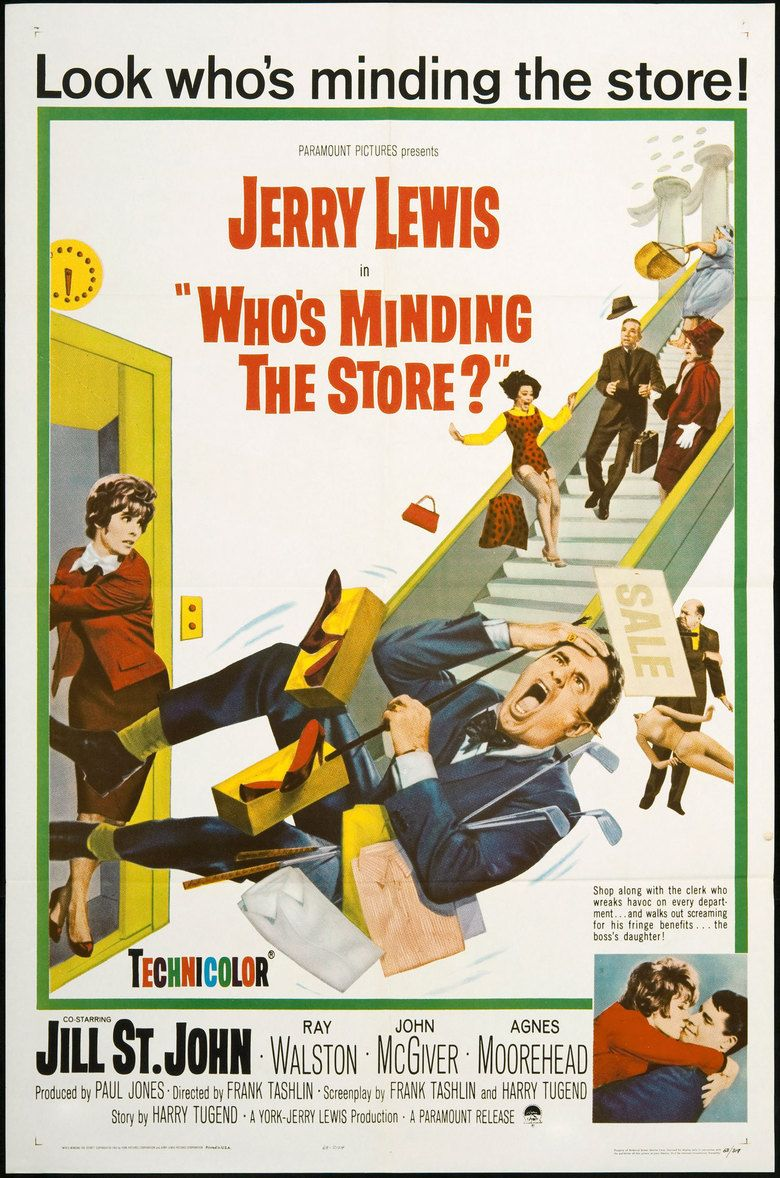Whos Minding the Store movie poster