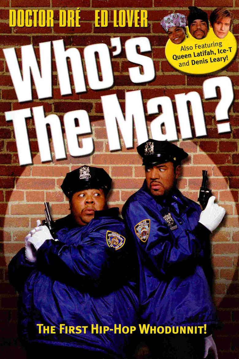 Whos the Man movie poster