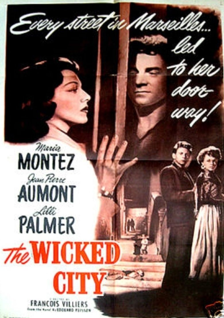 Wicked City (1949 film) movie poster
