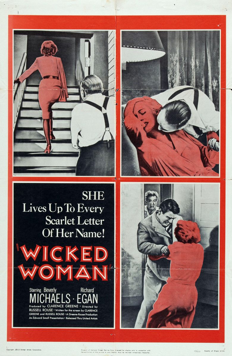 Wicked Woman (film) movie poster