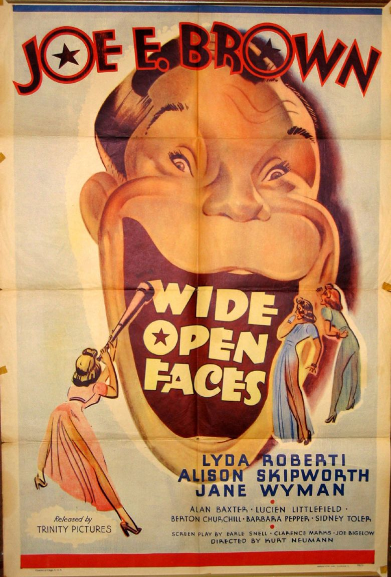 Wide Open Faces movie poster