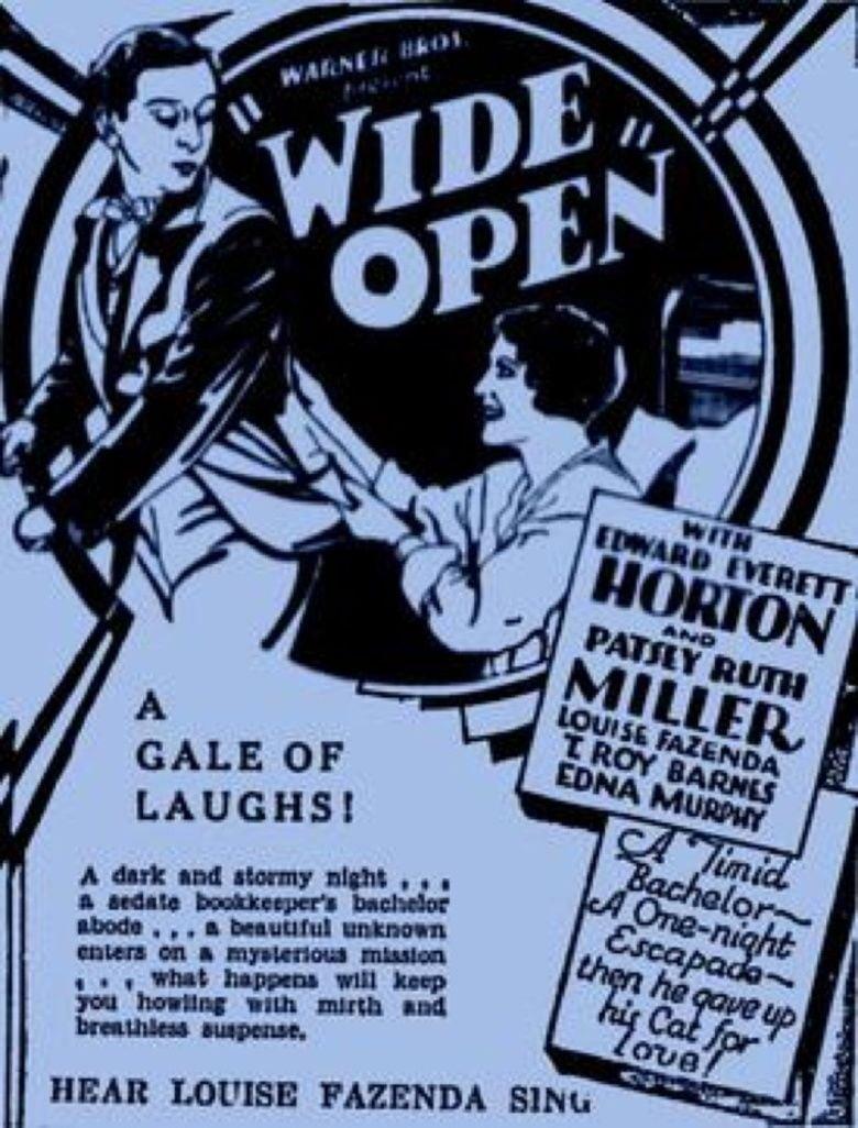Wide Open (film) movie poster
