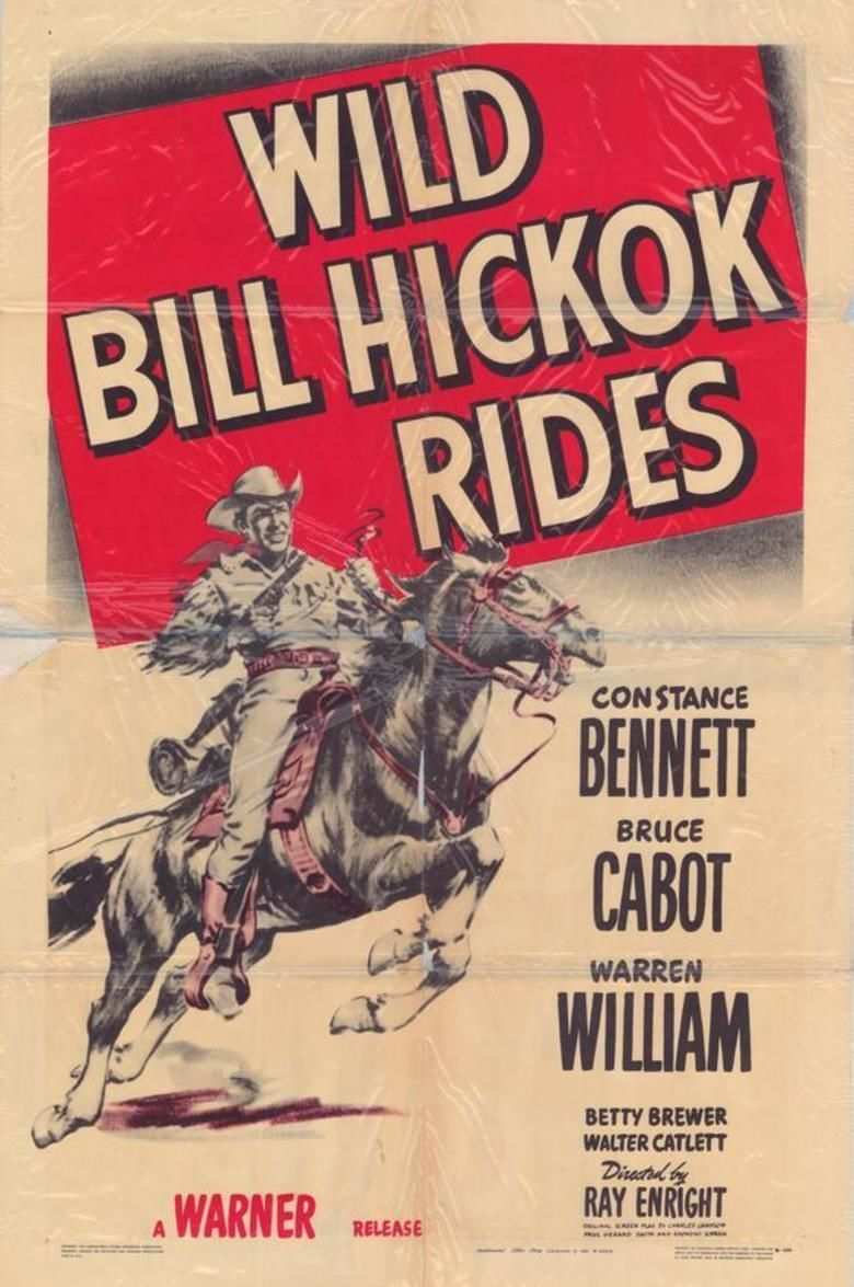 Wild Bill Hickok Rides movie poster